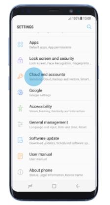 Configure Paubox mail with Samsung Galaxy S8 or S8 Plus – Paubox